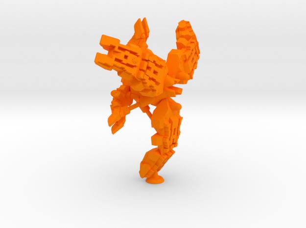 Neith Class Heavy Monitor - 1:20000 in Orange Processed Versatile Plastic