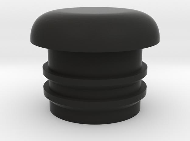 Bugaboo Front Wheel mount cap for Cameleon Gen 1 & in Black Natural Versatile Plastic