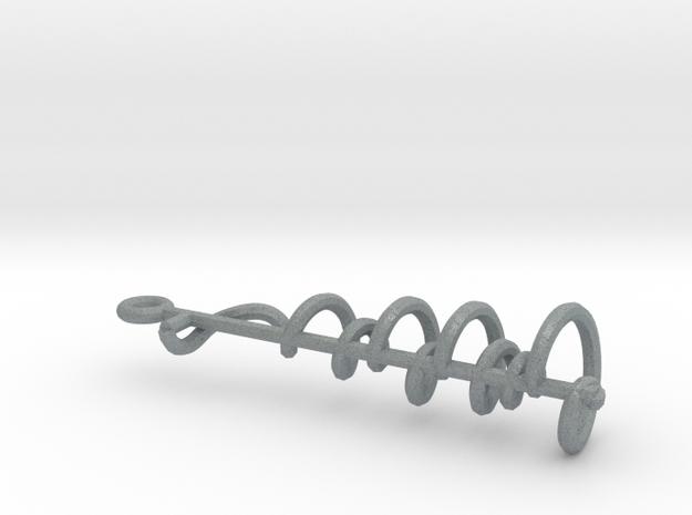 Riemann Zeta Curve 3d printed