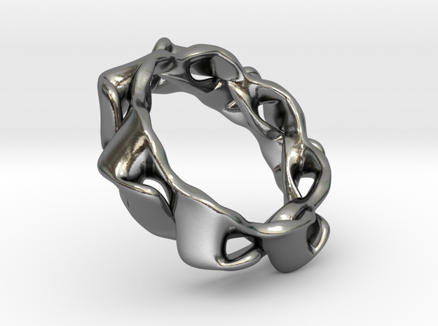 RingArray in Polished Silver