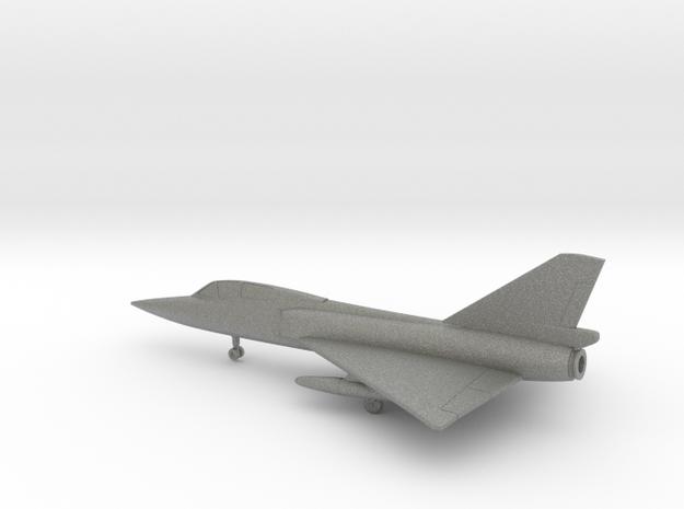 Convair F-106B Delta Dart in Gray PA12: 6mm
