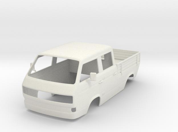 VW T3 Karo komplett in White Natural Versatile Plastic