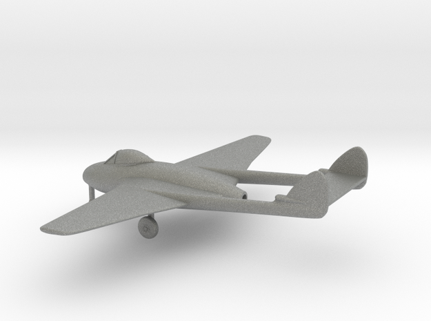 de Havilland DH.100 Vampire F.B.9 in Gray PA12: 1:144