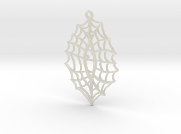 :Vision Web: Pendant in Transparent Acrylic