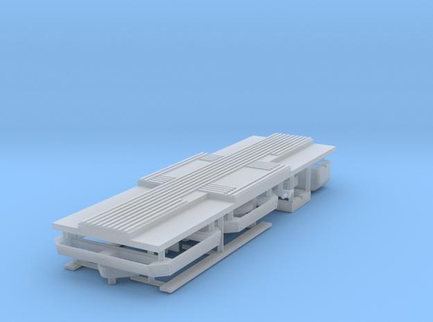 Type P, Umrüstsatz von M/N auf P mit 3 Achsen in Smoothest Fine Detail Plastic