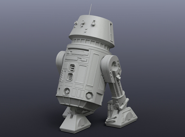 R5-D4 1/48 scale for Finemolds/Revell in Smoothest Fine Detail Plastic