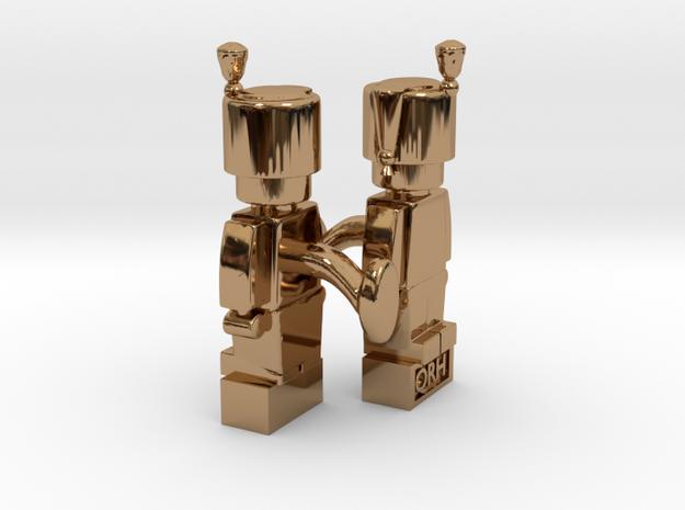 2 x Hussar Cufflinks 3d printed