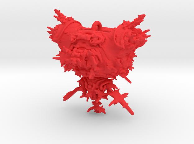 Mandelbulb Power 2 Pendant 3d printed