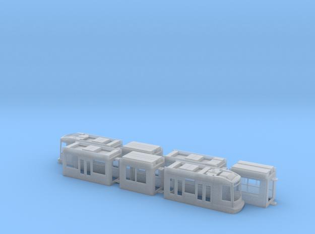 Rheinbahn NF10 in Smooth Fine Detail Plastic: 1:120 - TT