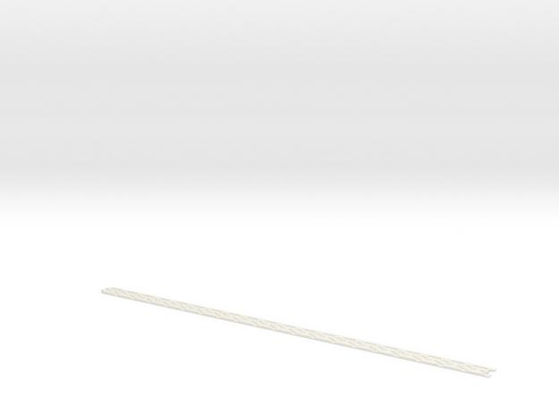 Steamer trunk band in White Natural Versatile Plastic