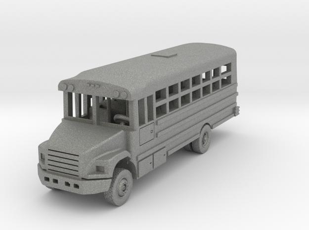 Thomas 29 Passenger Bus in Gray PA12: 1:144