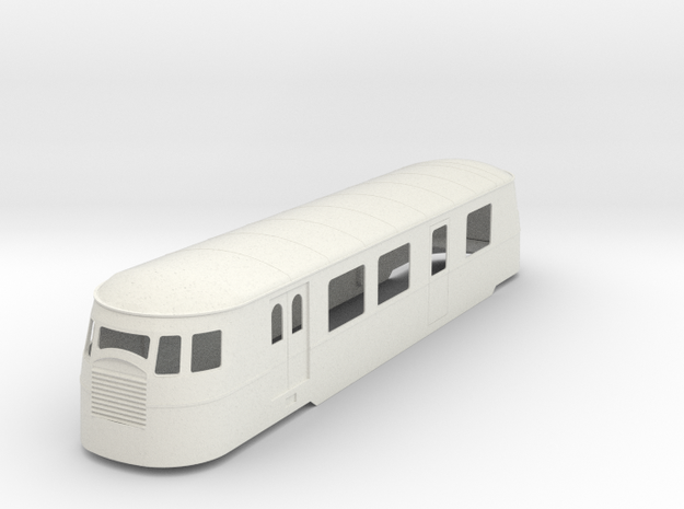 bl19-a80d1-railcar-correze in White Natural Versatile Plastic