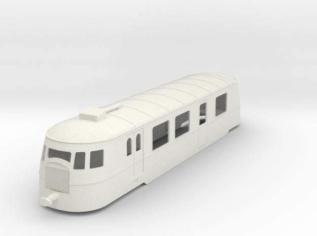 bl32-a80d1-railcar in White Natural Versatile Plastic