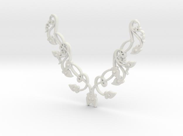 Floral Pendant 3d printed