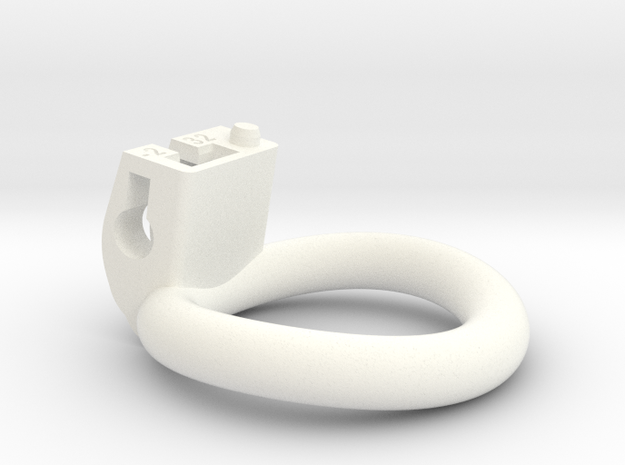 Cherry Keeper Ring - 32mm -2° in White Processed Versatile Plastic