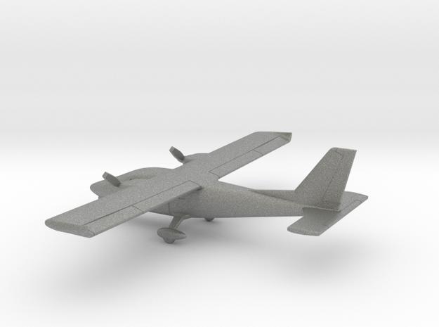 Partenavia P-68C Victor in Gray PA12: 1:160 - N