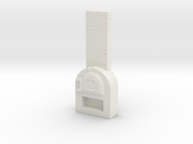 Brick Oven 1/64 in White Natural Versatile Plastic