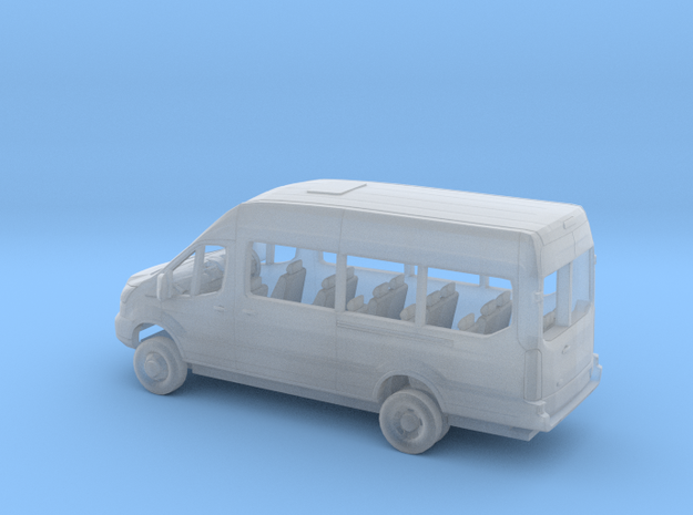1/148 2018 Ford Transit High Extended Van Kit RHD in Smooth Fine Detail Plastic