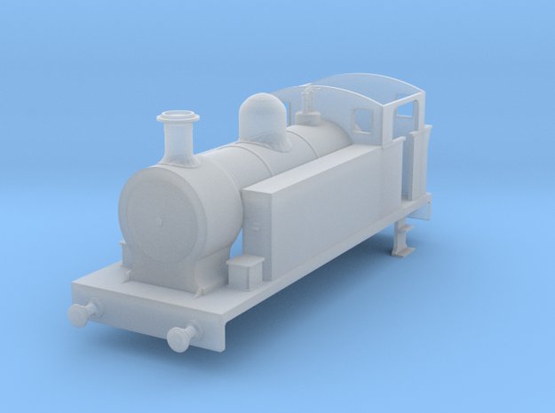 Hawthorne Leslie 0-6-0T - Dapol Terrier Chassis in Smoothest Fine Detail Plastic