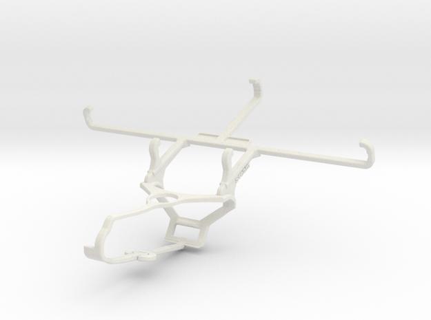 Controller mount for Steam & Motorola Moto G9 Powe in White Natural Versatile Plastic