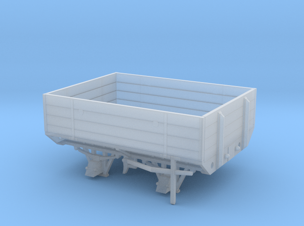 GWR W&L Timber Bolster Open Wagon -7mm Scale in Smooth Fine Detail Plastic