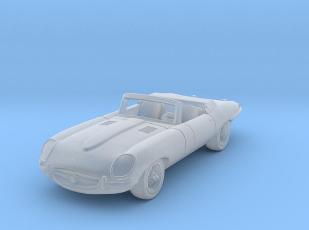 Jaguar Type E 1:160 N in Smooth Fine Detail Plastic