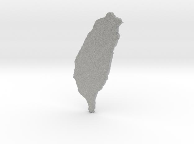 Tiny Taiwan 3d printed
