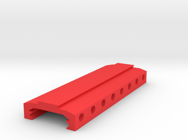 Picatinny to Dovetail Rail Adapter (8 Slots)