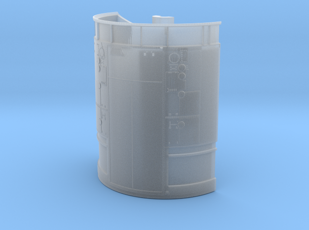 01a-Service module-SW in Smooth Fine Detail Plastic