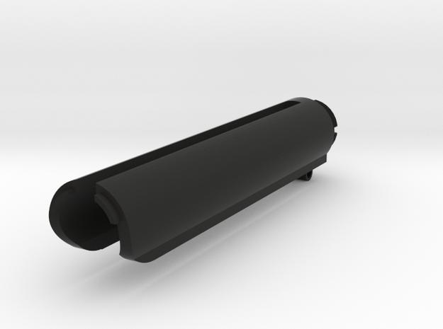 RailLess Upper for GG in Black Natural Versatile Plastic
