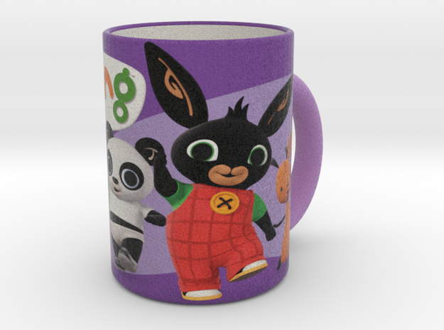Bunny Bing Cup in Natural Full Color Sandstone