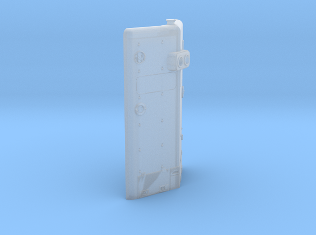EMD 2nd Generation Hood End Panel 1:64 S Scale in Smooth Fine Detail Plastic: 1:64 - S