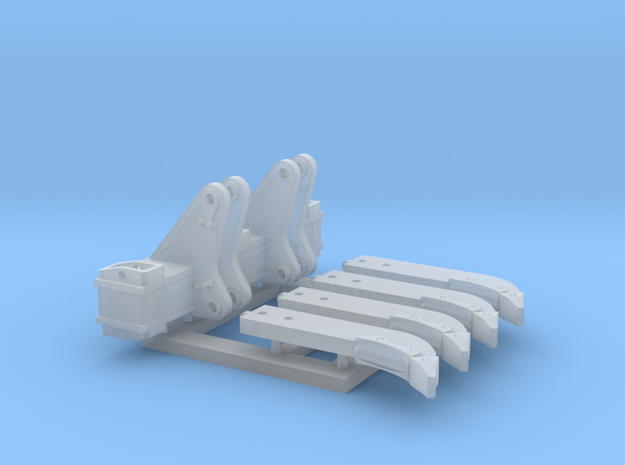 1:50 D8T Multi shank ripper kit. in Smooth Fine Detail Plastic