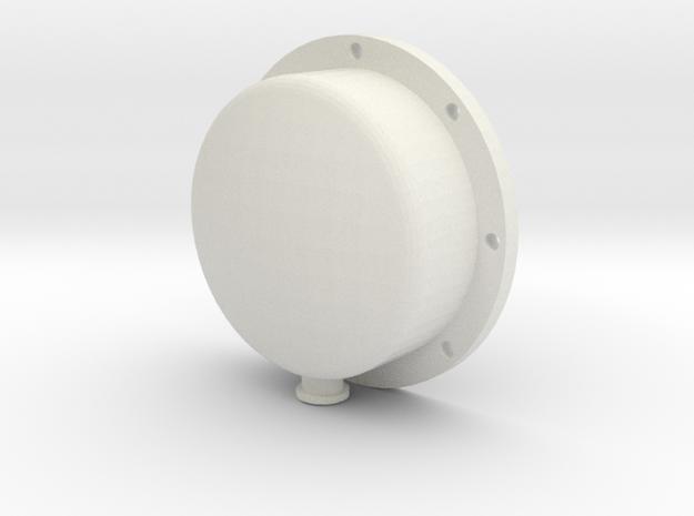 "3/4"" Scale Elesco Feed Water Heater Oil End in White Strong & Flexible"