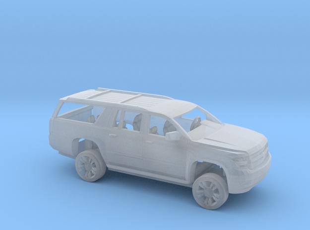 1/64 2015 Chevrolet Suburban Kit in Smooth Fine Detail Plastic