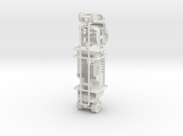 "1/64 Crown Engine ""Wide Body"" in White Natural Versatile Plastic"