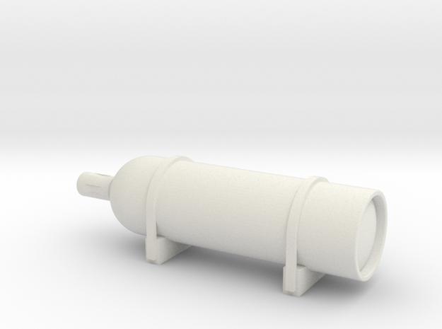 Elco Smoke Generator 24th scale in White Natural Versatile Plastic