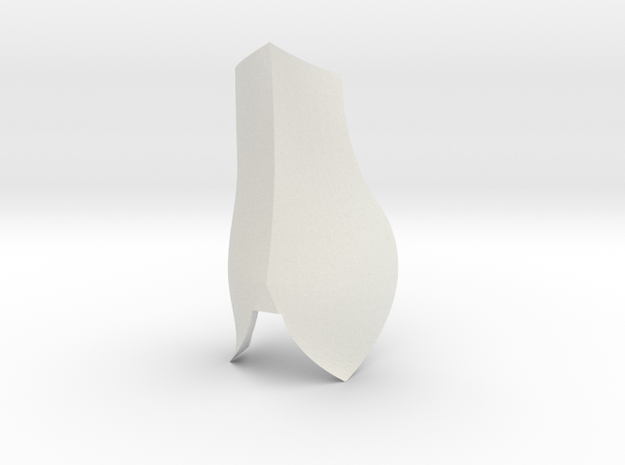 Split Shin | CCBS in White Natural Versatile Plastic