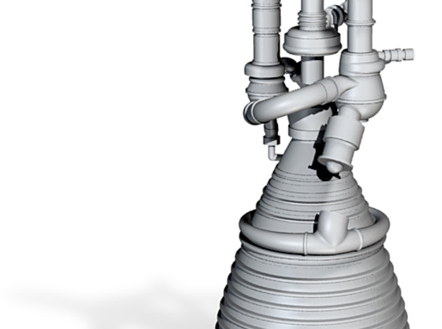 J-2 Engine (1:70) for Saturn IB or V 3d printed