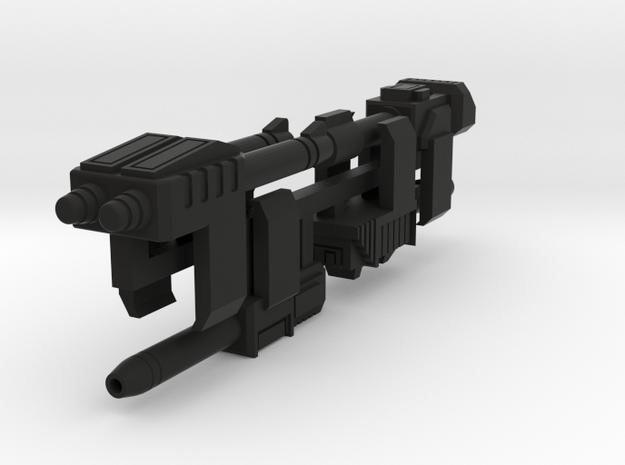 Transformers Earialbots Weapons in Black Natural Versatile Plastic