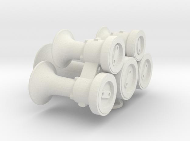 M5_Steel_1in in White Natural Versatile Plastic
