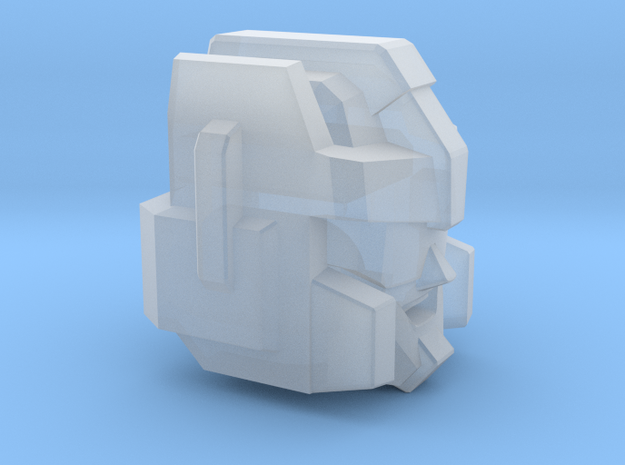 Thundering Blades' Head Combiner Version V2 in Smooth Fine Detail Plastic: Small