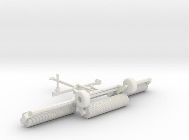 NEW!! 1:160/N-Scale Cambridge roller in White Natural Versatile Plastic