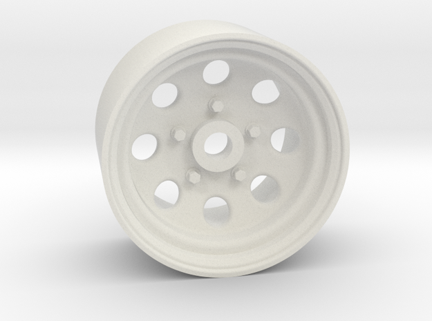 Type 181 18x10mm 4x1mm Hex OS -1 BS 4 in White Natural Versatile Plastic