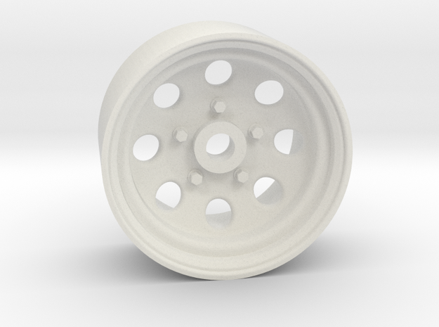 Type 181 20x10mm 4x1mm Hex OS -2 BS 3 in White Natural Versatile Plastic