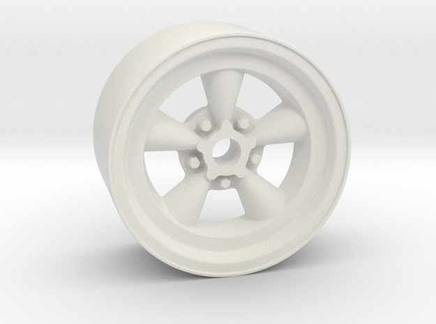 Classic 5T 18x9mm 4x1mm Hex OS -0.5 BS 4 in White Natural Versatile Plastic