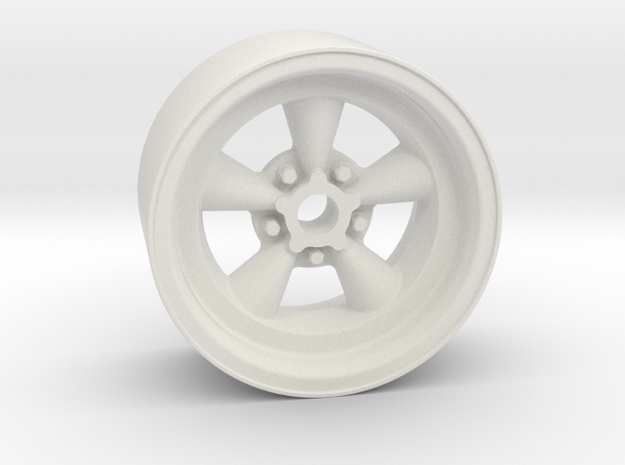Classic 5T 18x9mm 4x1mm Hex OS -1.5 BS 3 in White Natural Versatile Plastic