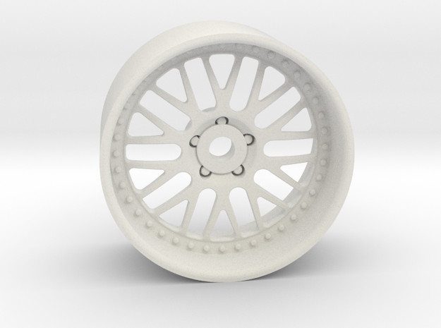 GR10 19x10mm 4x1mm Hex OS -1 BS 4 in White Natural Versatile Plastic