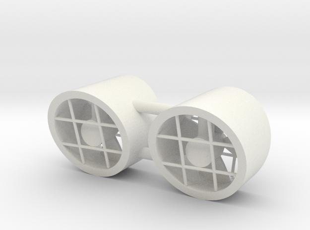 FCS 2610 - bowthruster (2 PCS) in White Natural Versatile Plastic