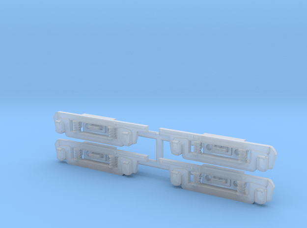 HO Hollywood car sideframes in Smooth Fine Detail Plastic